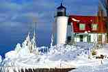 Mid-winter at Point Betsie: F-199