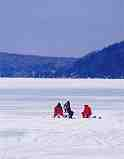 Ice Fishing on Crystal Lake: R-381
